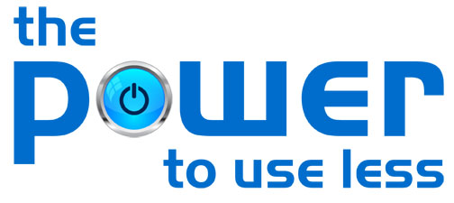 Power to use less logo